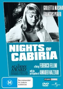 Nights of Cabiria on DVD image