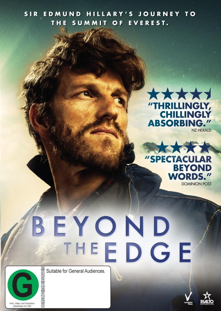 Beyond the Edge on DVD image
