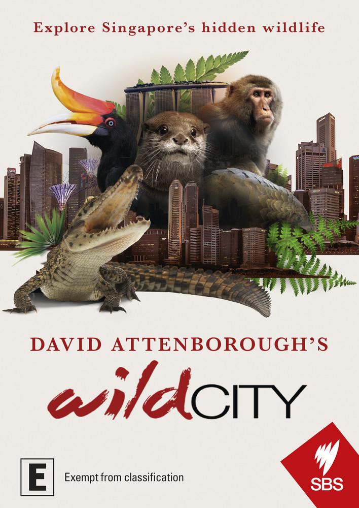 David Attenborough's - Wild City on DVD image