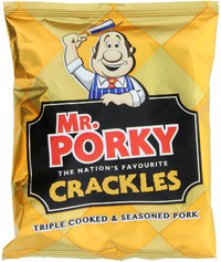 Mr. Porky Pork Crackles (24 x 45g) image