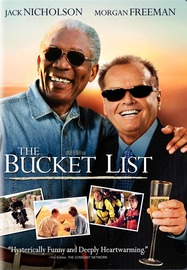The Bucket List on DVD image