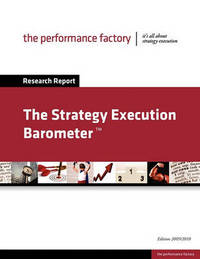 The Strategy Execution Barometer by Koen Schreurs