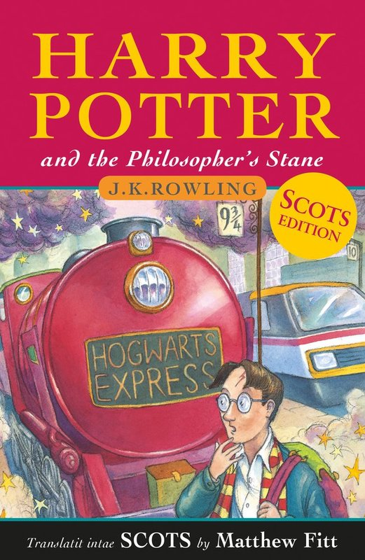 Harry Potter and the Philosopher's Stane (Scots Edition) by J.K. Rowling