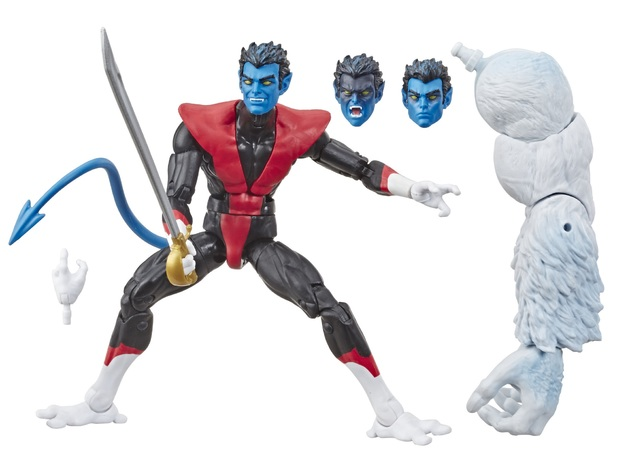"Marvel Legends: Nightcrawler - 6"" Action Figure"