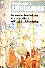 Beginner's Lithuanian by Leonardas Dambriunas image