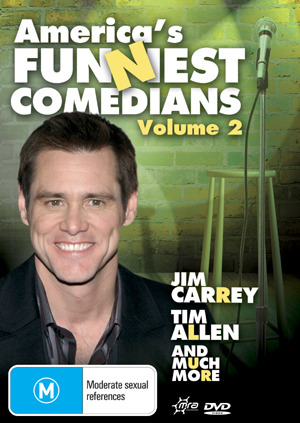 America's Funniest Comedians - Vol. 2 on DVD