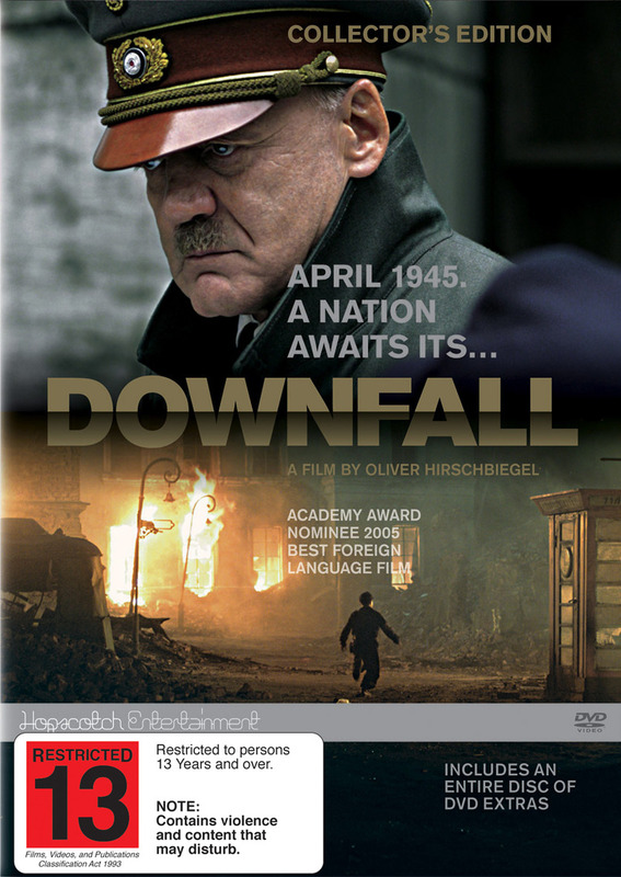 Downfall on DVD