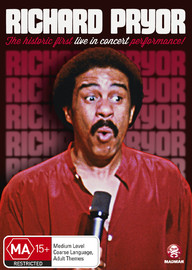 Richard Pryor: Live in Concert on DVD