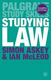 Studying Law by Simon Askey image