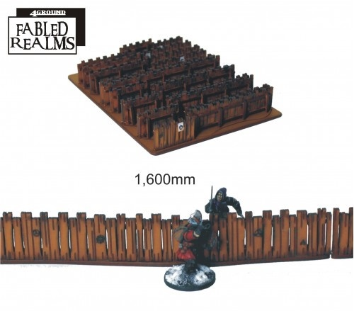 Fabled Realm: Village Fencing