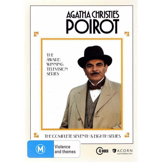 Agatha Christie's: Poirot - Series Seven & Eight (4 Disc Set) on DVD