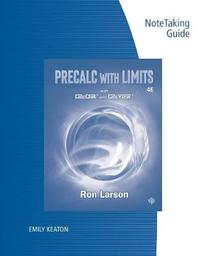 Note Taking Guide for Larson's Precalculus with Limits, 4th by Ron Larson image