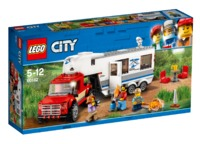 LEGO City: Pickup & Caravan (60182)