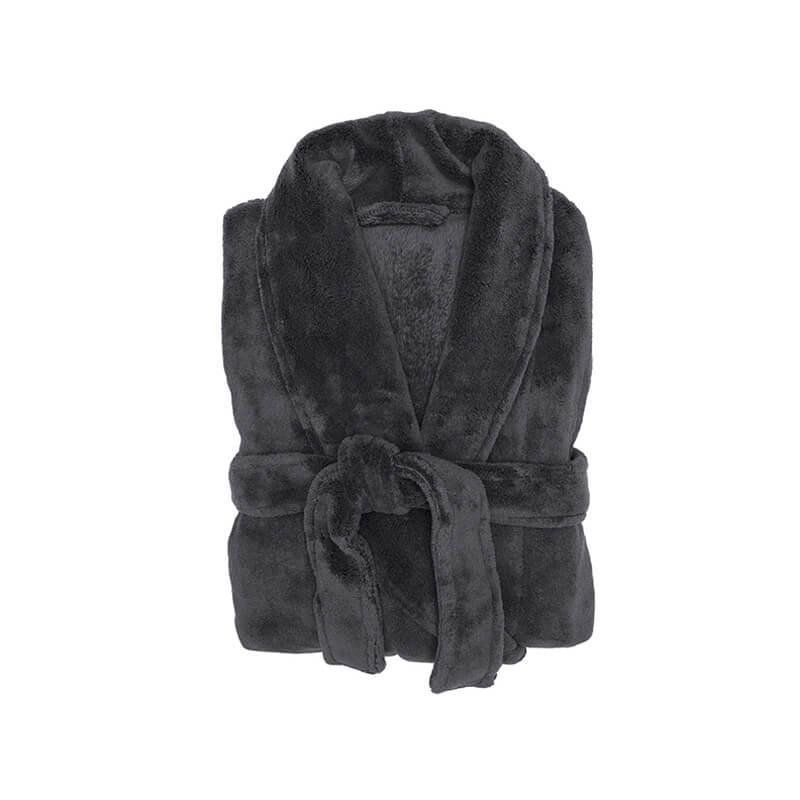 Bambury Charcoal Microplush Robe (Medium/Large) image