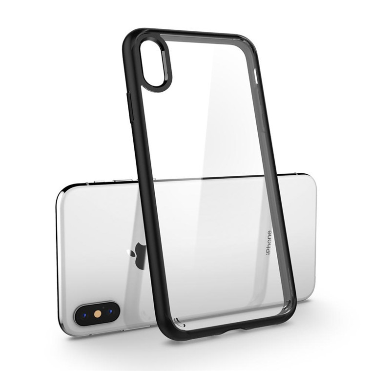 Spigen: Ultra Hybrid Case for iPhone XS Max - Clear/Black image