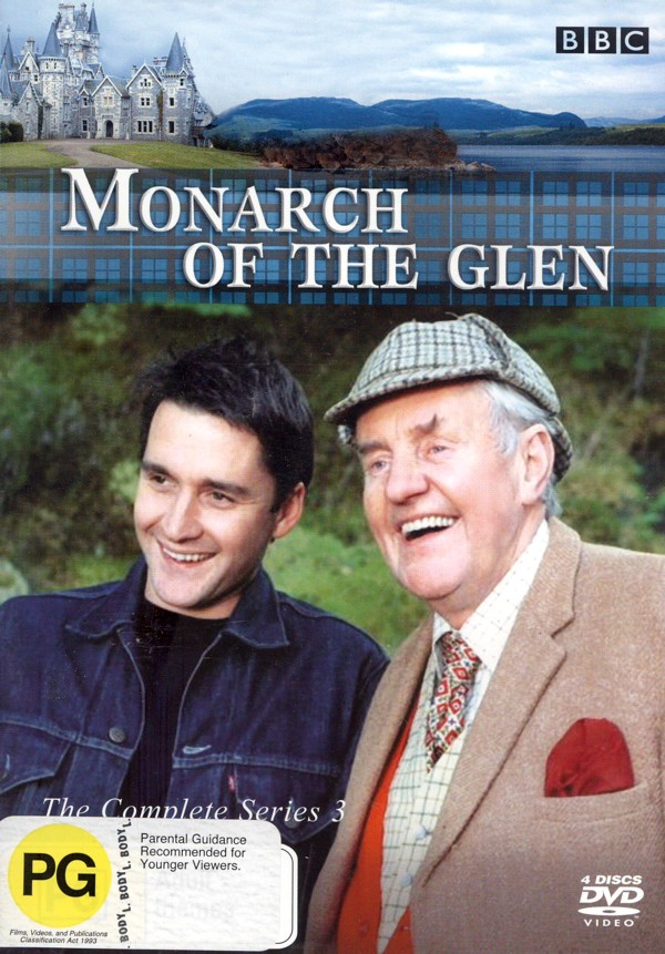 Monarch Of The Glen - Complete Series 3 (4 Disc Set) on DVD image