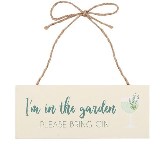 Garden Gin Sign