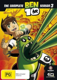 Ben 10 - Season 3 on DVD