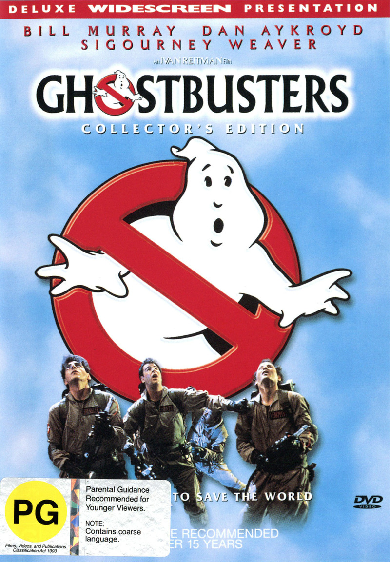 Ghostbusters on DVD image