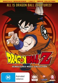 Dragon Ball Z Remastered Movie Collection (Uncut) (7 Disc Set) on DVD image