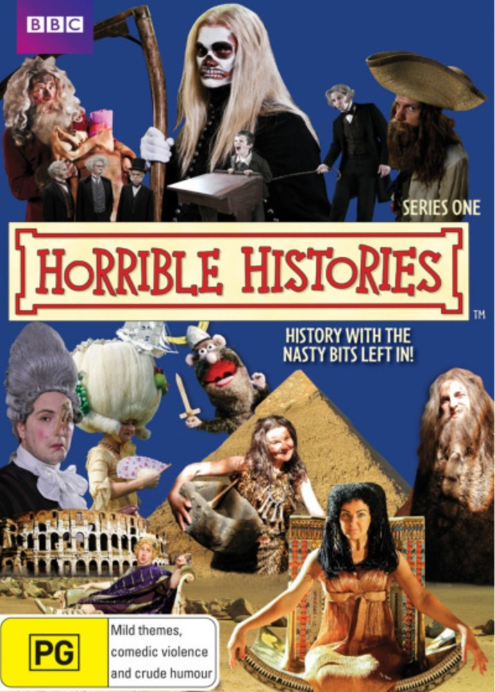 Horrible Histories - Season 1 DVD image