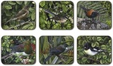 Iconic Birds Small Coasters (set of 6)
