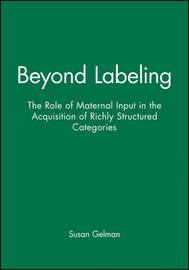 Beyond Labeling by Susan Gelman