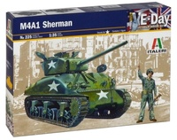 Italeri: 1:35 M4A1 Sherman - Model Kit