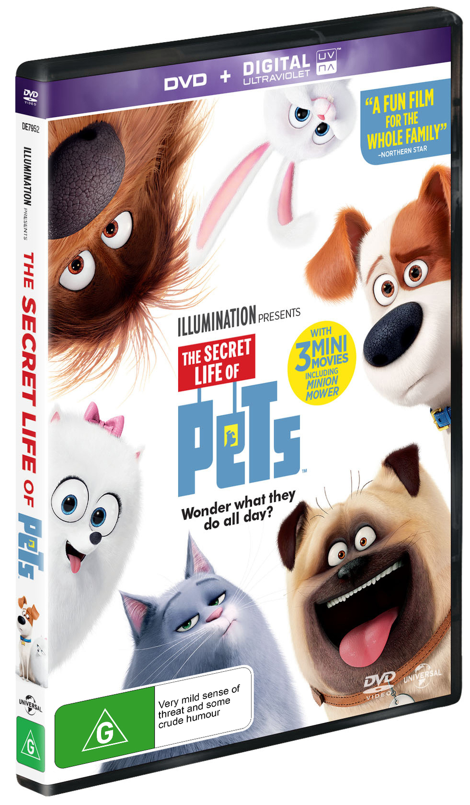 The Secret Life Of Pets on DVD image