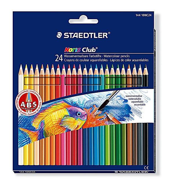 Staedtler Aquarell Watercolour Pencils Pkt24