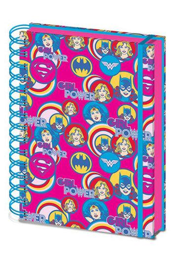 DC Comics: Girl Power A5 Notebook image