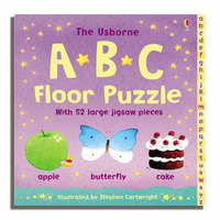 ABC Floor Jigsaw Puzzle Book by Felicity Brooks image