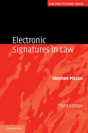 Law Practitioner Series by Stephen Mason