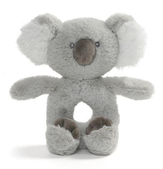 Gund: Toothpick Koala - Plush Ring Rattle