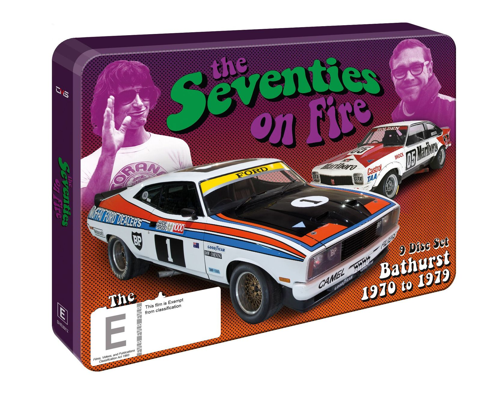 The 70's On Fire: Bathurst 1970-1979 Collector's Tin on DVD image