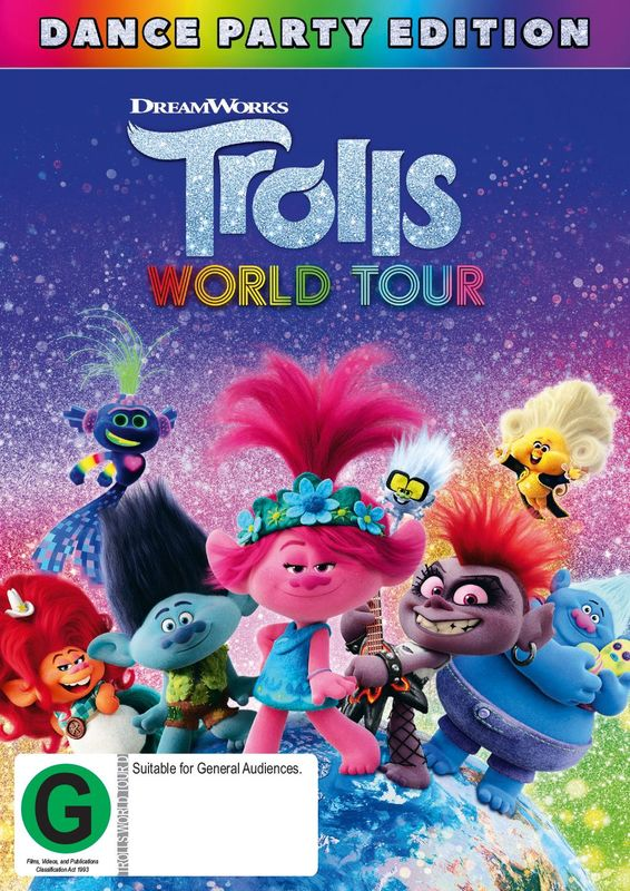 Trolls: World Tour on DVD