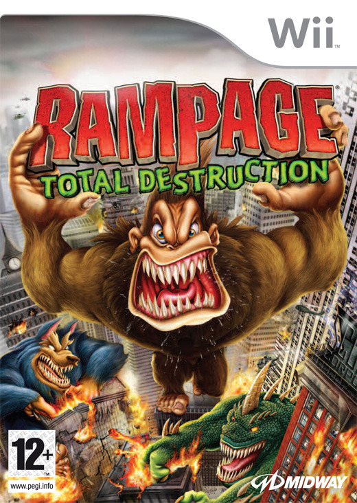 Rampage: Total Destruction for Nintendo Wii