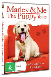Marley & Me 2: The Puppy Years on DVD