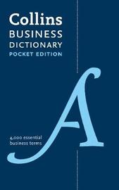 Pocket Business English Dictionary by Collins Dictionaries