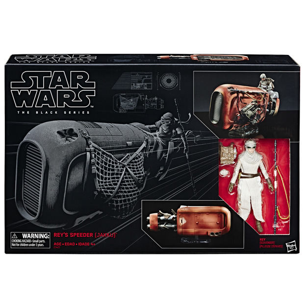 Star Wars: The Black Series - Rey & Jakku Speeder