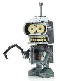 Mega Construx: Kubros Figure - Futurama's Bender