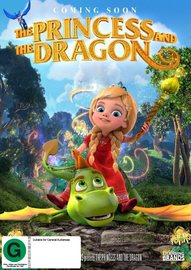 The Princess And The Dragon on DVD