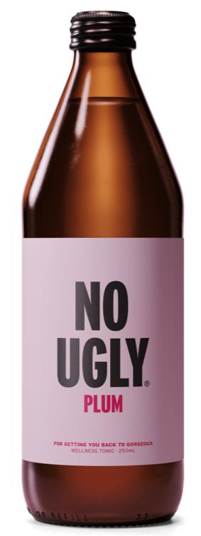 No Ugly: Wellness Tonic - Plum 250ml (12 Pack) image