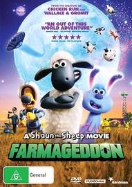 A Shaun the Sheep Movie: Farmageddon on DVD