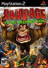 Rampage: Total Destruction for PlayStation 2