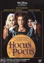 Hocus Pocus on DVD
