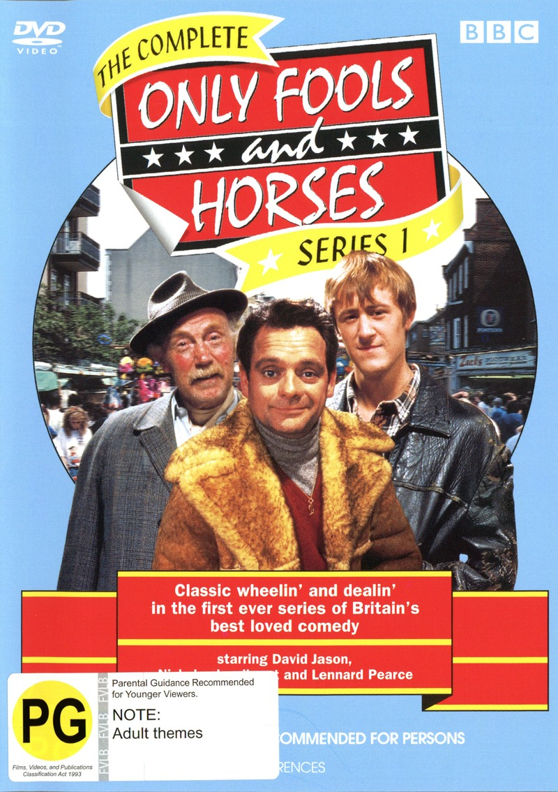 Only Fools And Horses - Complete Series 1 on DVD image