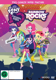 My Little Pony Equestria Girls: Rainbow Rocks on DVD