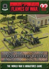 Flames of War Heavy Artillery Battery
