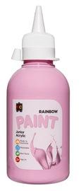EC Colours - 250ml Rainbow Acrylic Paint - Pink